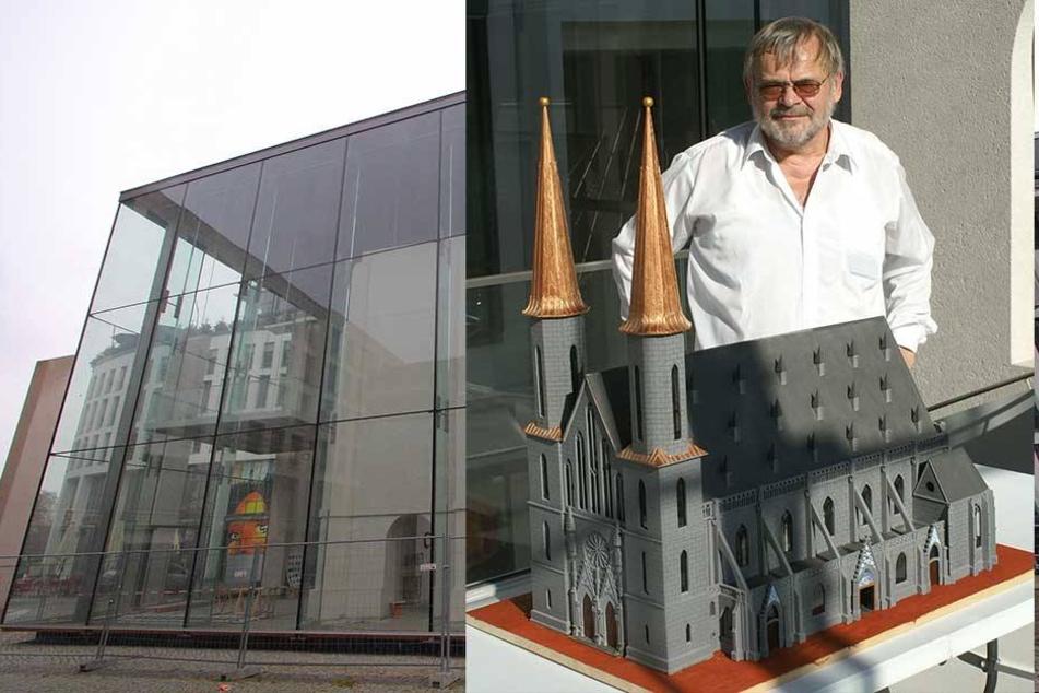 Rentner baut Dresdens älteste Kirche wieder auf