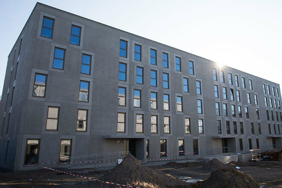 Die erste Berliner Flüchtlingsunterkunft in modularer Bauweise entstand in Marzahn-Hellersdorf.