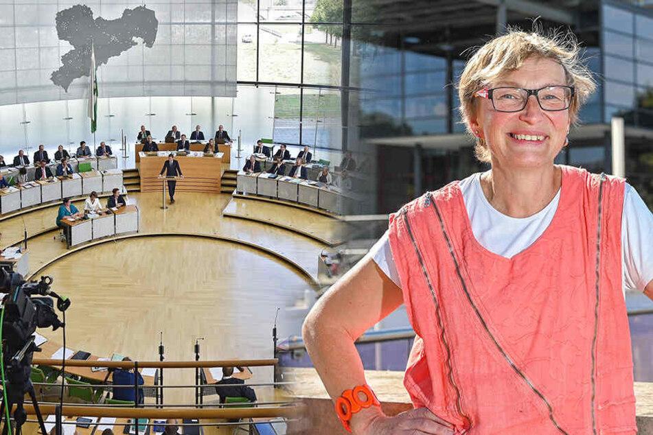 Für 5935,50 Euro im Monat! Carmen Krüger wird Kurzzeit-Abgeordnete in Sachsens Landtag