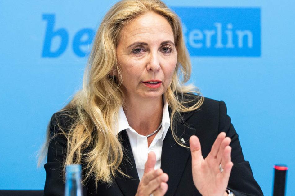 Barbara Slowik, Berlins Polizeipräsidentin, wünscht sich mehr Frauen bei der Berliner Polizei.