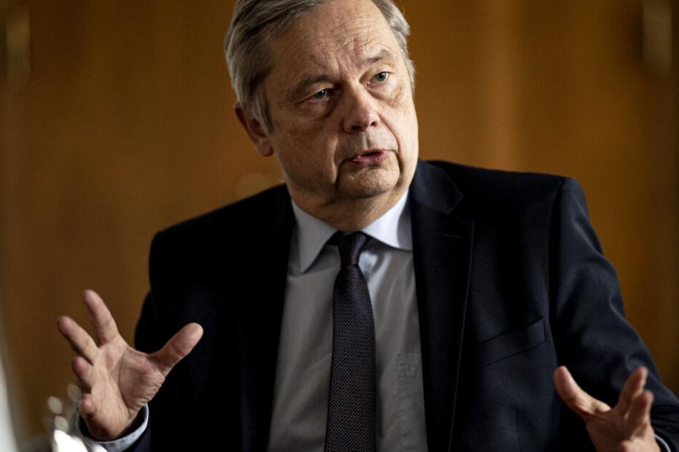 Christian Thomsen, TU-Präsiden, verrät erste Details zum Klimawandel-Institut.