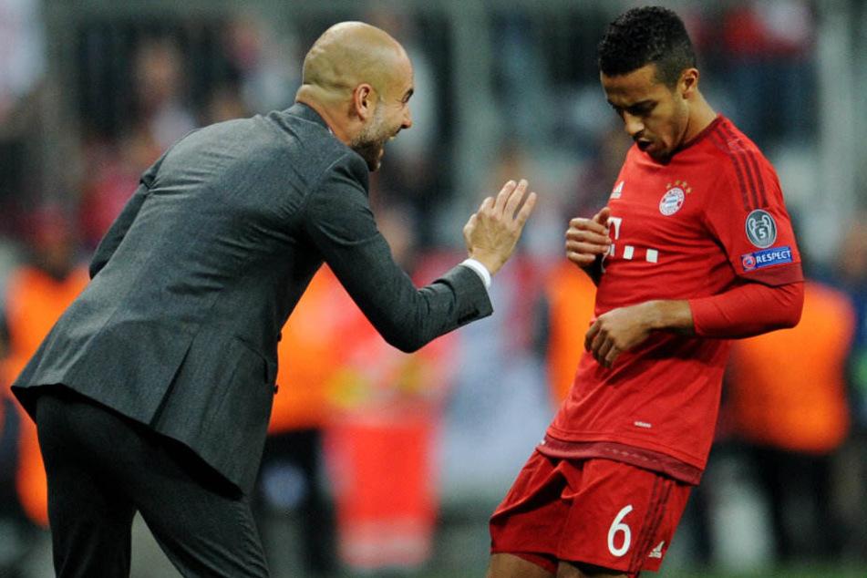 Verabschiedet sich Thiago noch in diesem Sommer aus München?