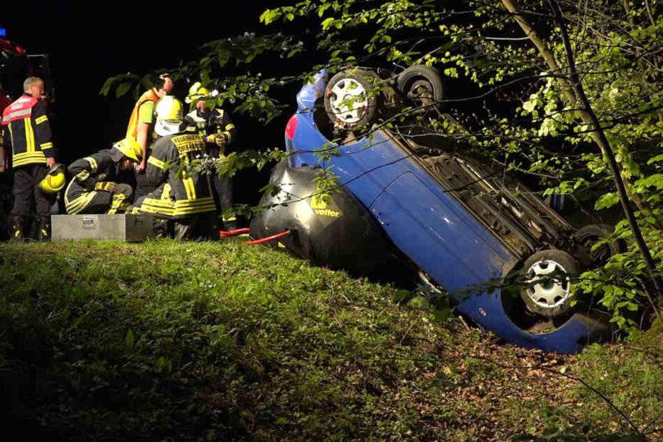 Ober-Ramstadt: 19-jährige Mädchen verunglücken mit VW Polo - Beifahrerin tot