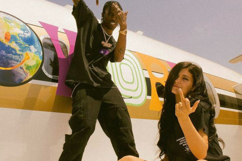 Travis Scott (l) and Kylie Jenner split in 2019 but have apparently rekindled their romance.