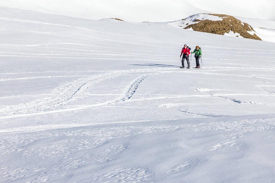Zwei Wanderer in Österreich. (Symbolbild)
