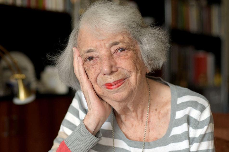 Sie hat das Lächeln nicht verloren: Margot Friedländer (geb. Bendheim).