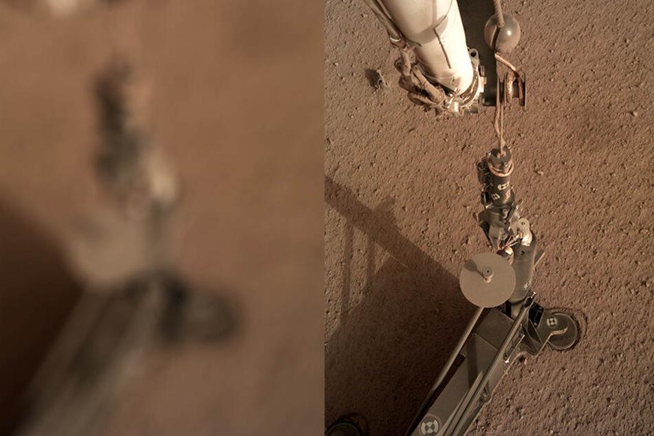 Forscher verzweifelt: Deutscher Roboter hängt auf Mars fest!