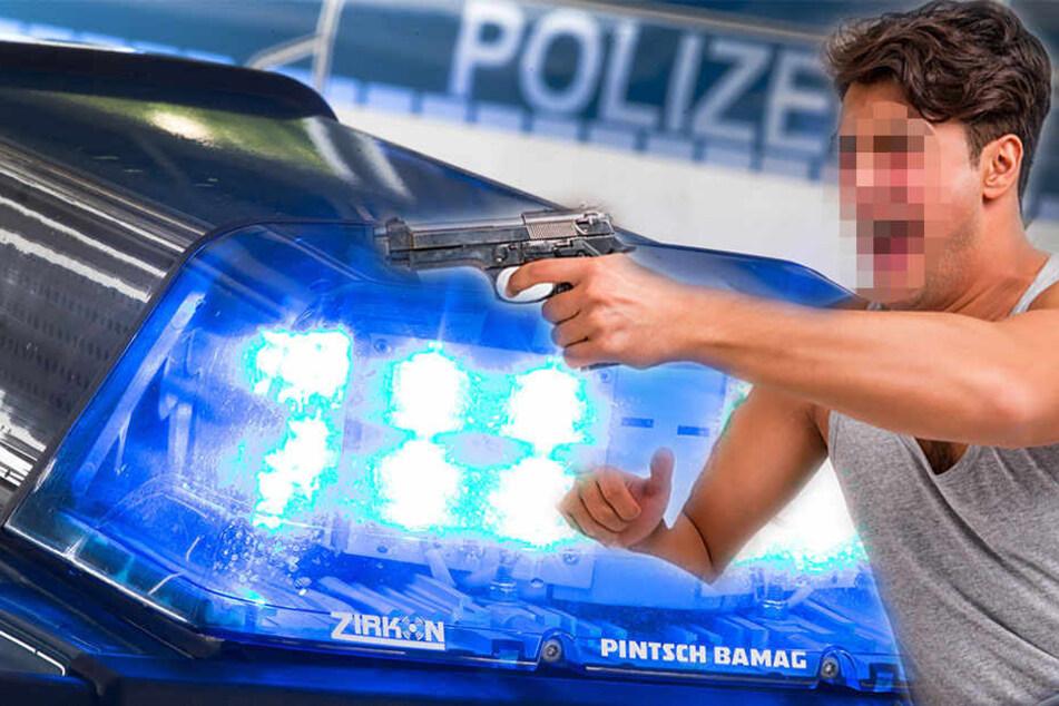 Der 23-Jährige war stark alkoholisiert in seiner Wohnung, als die Polizei diese stürmte. (Symbolbild)