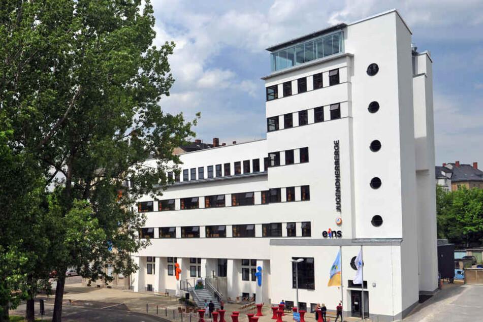 Jugendherberge in Chemnitz am Getreidemarkt.
