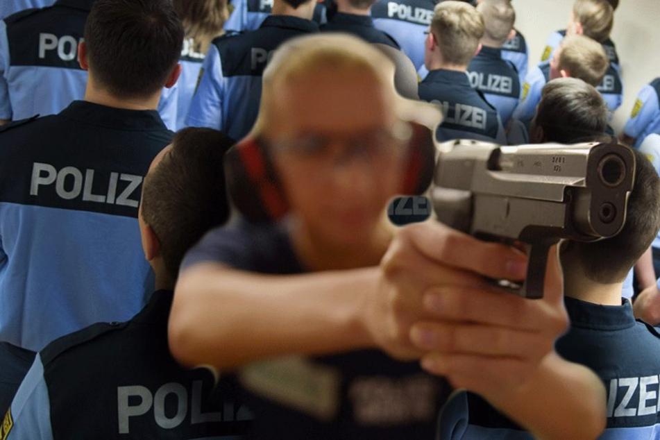 Sächsischer Wachpolizist schießt sich selbst ans Bein
