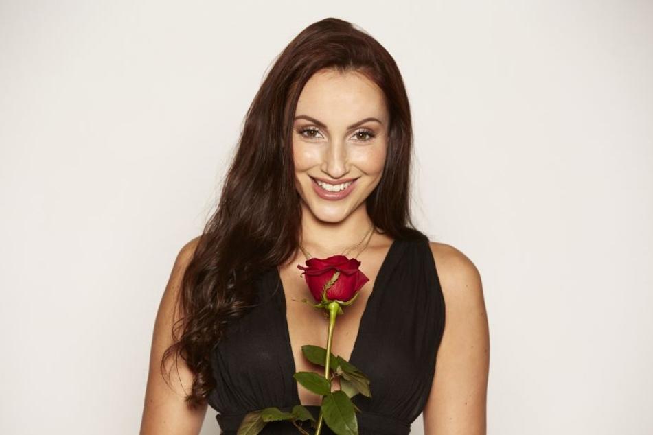 Lehnte die Rose des RTL-Bachelors ab: Isabell Bernsee (28) aus Burg bei Magdeburg.