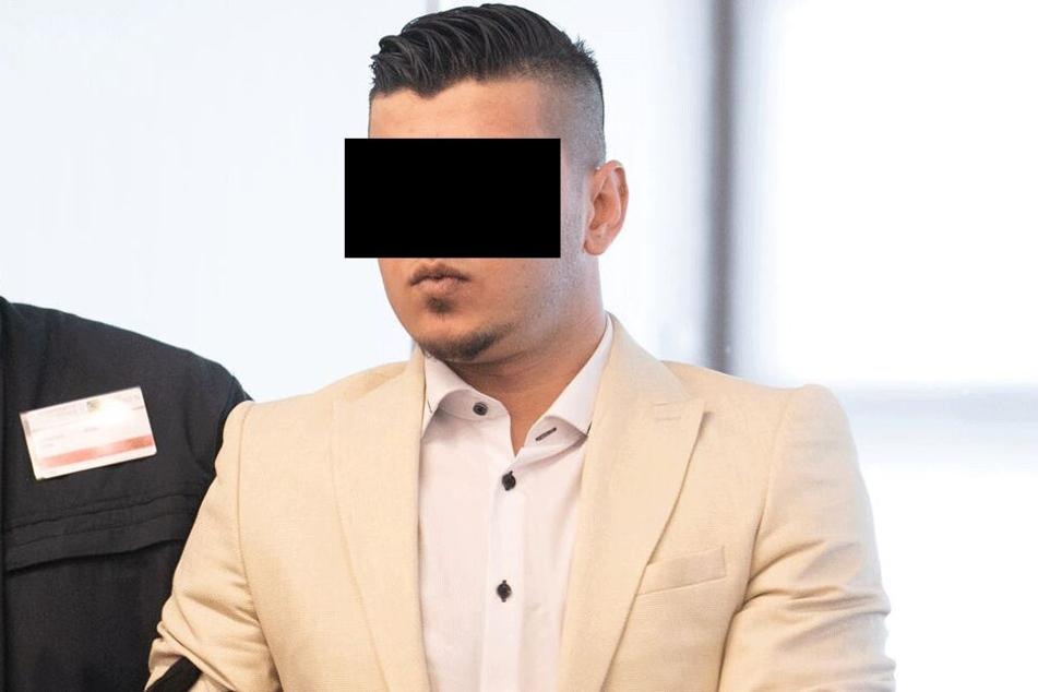 Alaa S. (23) am Montag vor Gericht.