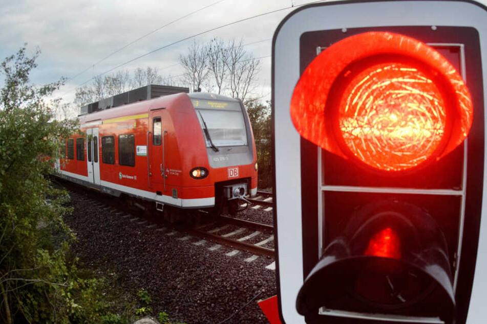Der Bahnübergang hatte keine Schranke, dadurch bemerkte der Transporterfahrer den Zug zu spät.