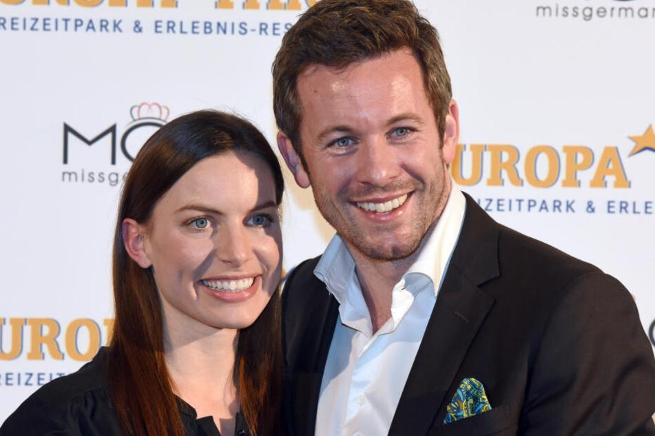 Jan Hartmann (hier mit seiner Frau Julia) freut sich auf die Tanz-Herausforderung.