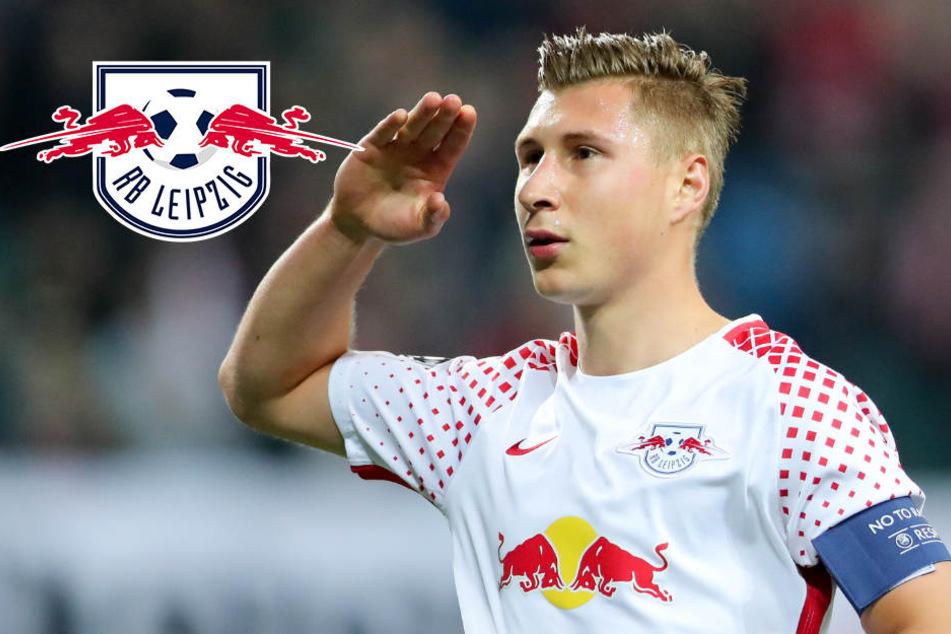 RB-Kapitän Willi Orban kickt für National-Mannschaft