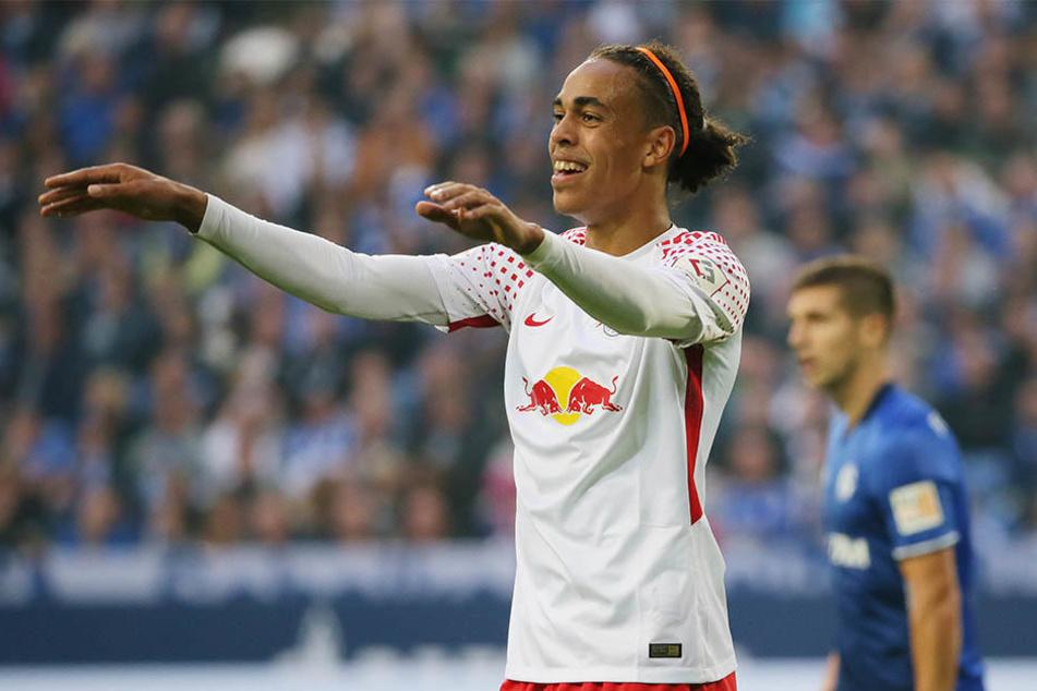 Kurz vor der Champions-League-Premiere verkündete RB Leipzig, dass Yussuf Poulsen bis 2021 in der Messestadt bleibt.