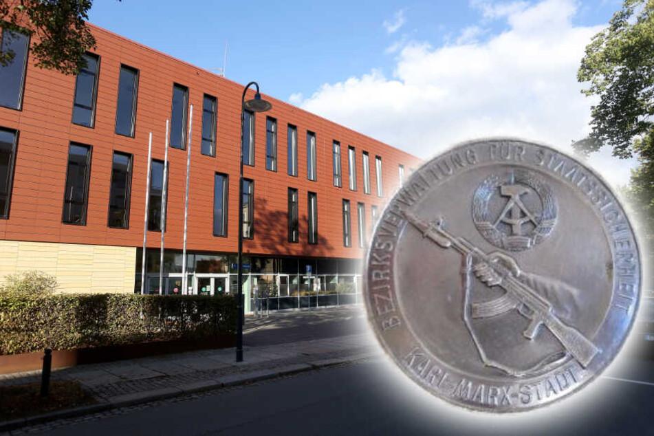 Peinliche Behördenposse: Chemnitzer Staatsanwaltschaft wollte Stasi-Münze versilbern