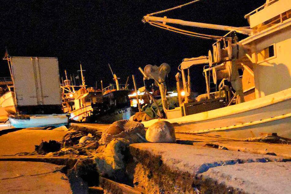 Starkes Seebeben vor Griechenland reißt Menschen aus dem Schlaf