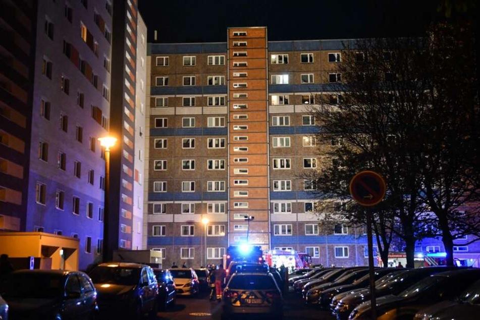 Großeinsatz in der Nacht zu Karfreitag in Magdeburg.