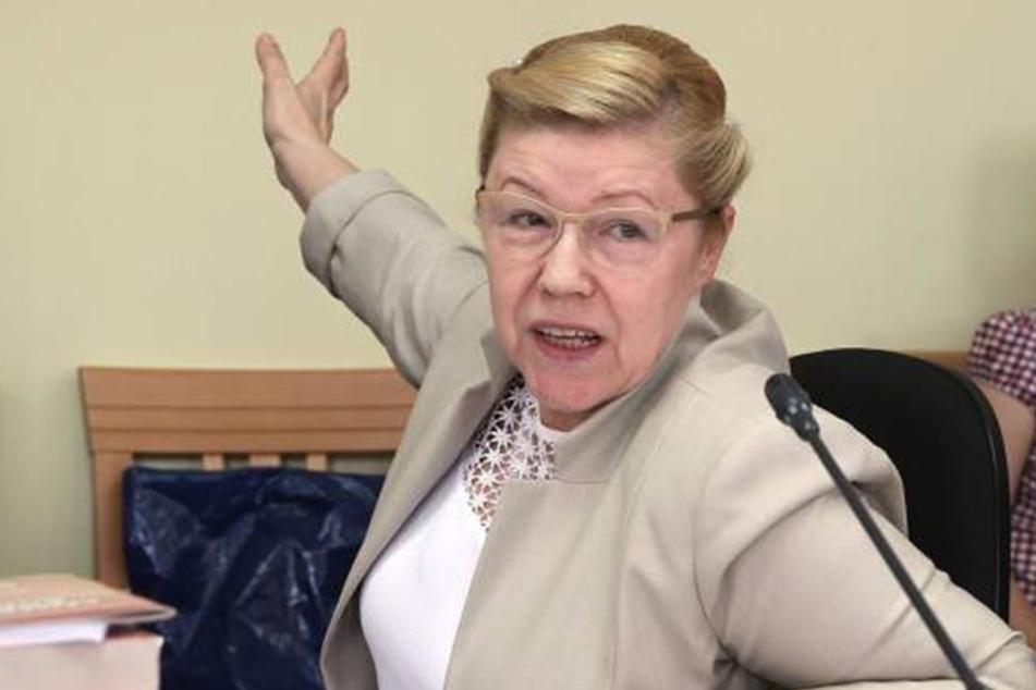Sie steckt hinter dem Gesetztesentwurf: Die Ultrakonservative Yelena Mizulina.