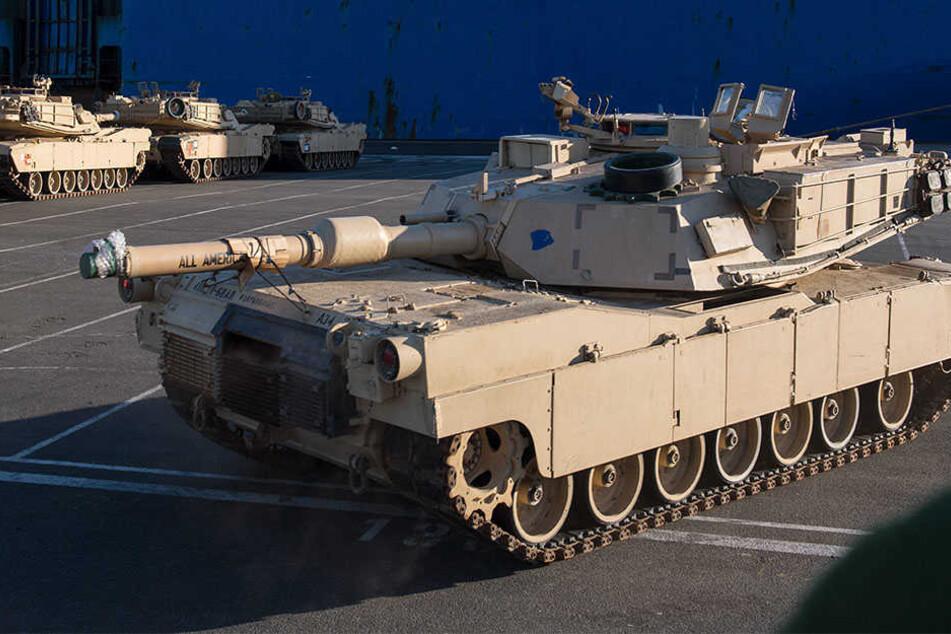 Us Panzer Rollen Durch Deutschland