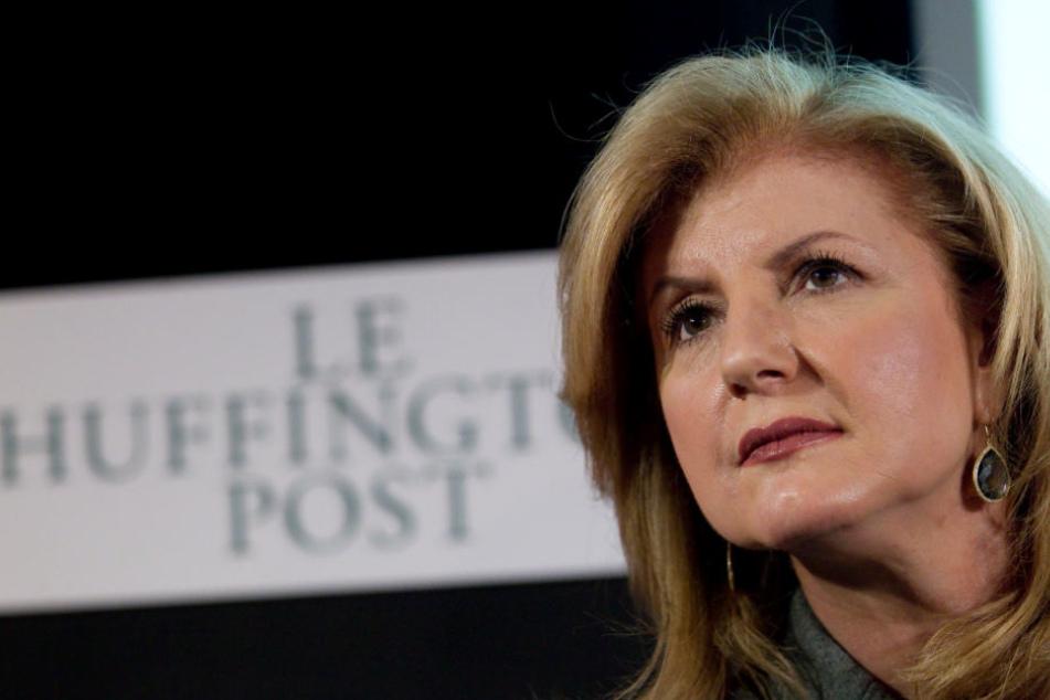 """Arianna Huffington ist Mitbegründerin und langjährige Chefredakteurin der """"HuffPost""""."""