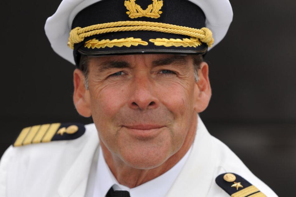 """Sascha Hehn spielt in der ZDF-Serie """"Das Traumschiff"""" den Kapitän Victor Burger."""