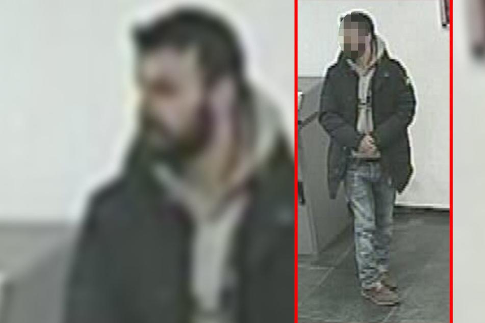 Dieser Mann soll einen 18-Jährigen bedroht und ihn gezwungen haben, Geld abzuheben.