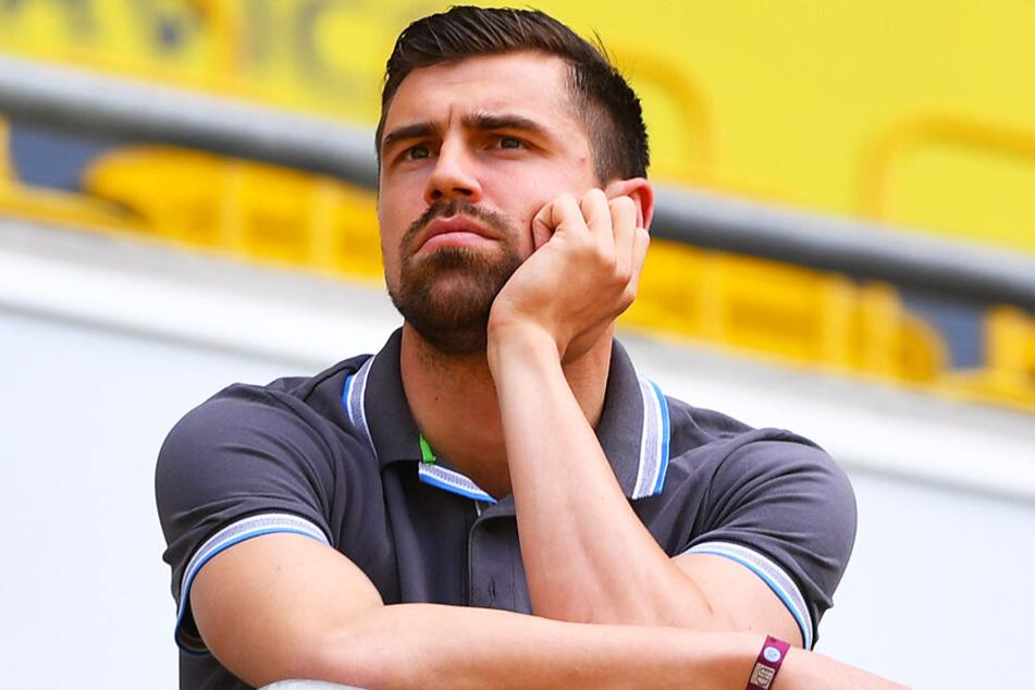 Auch nach seinem Abschied von Dynamo kommt Benjamin Kirsten regelmäßig ins Harbig-Stadion.