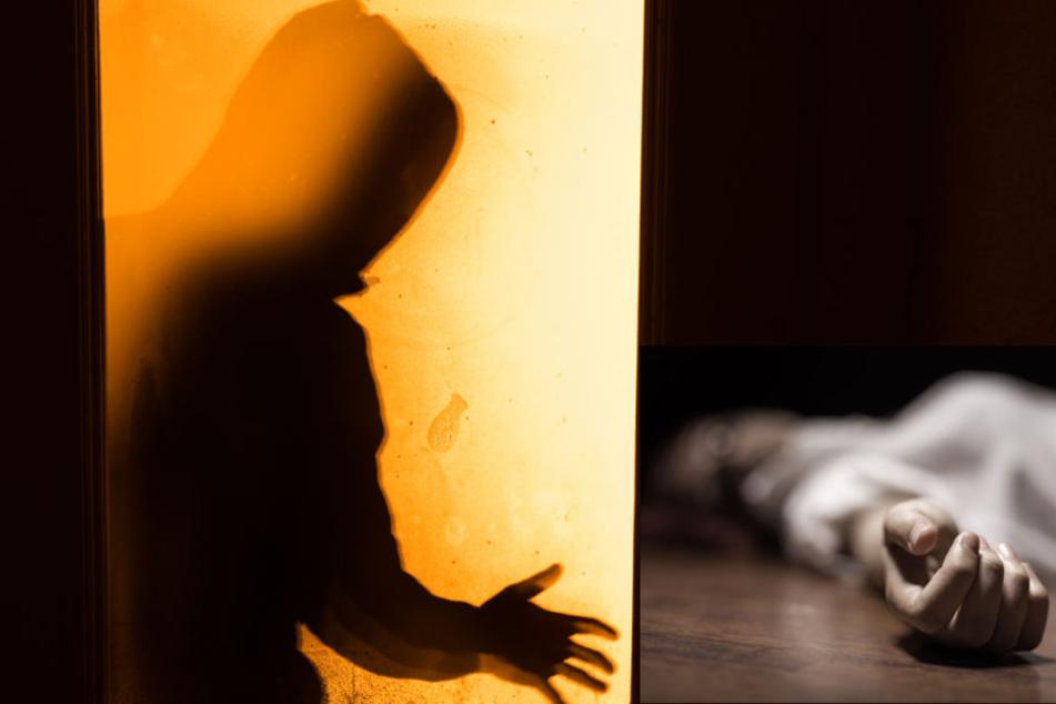 Zwei Männer attackierten die Frau und drückten sie in ihrer Wohnung zu Boden (Symbolbild).