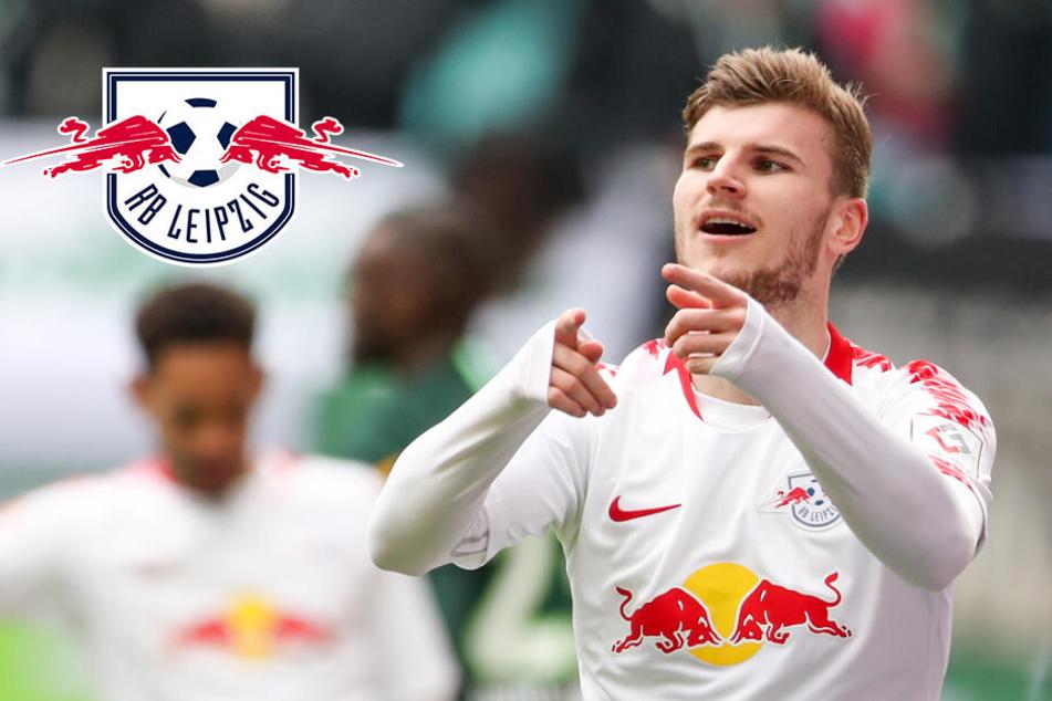 Nagelsmann plant bei RB Leipzig weiter mit Timo Werner