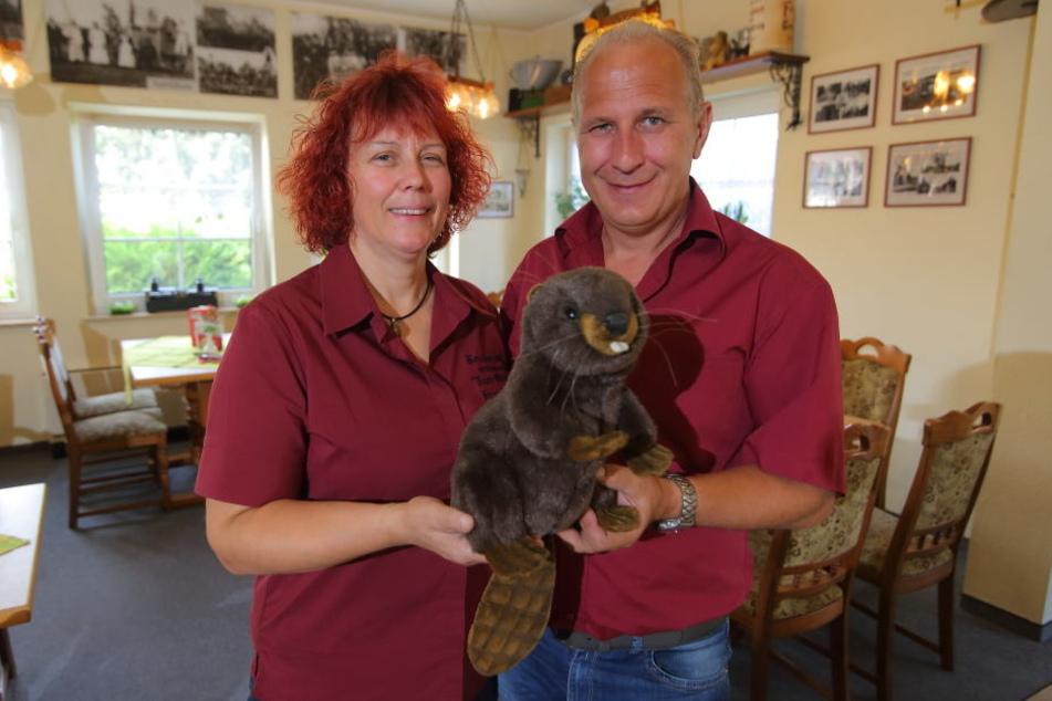 """Petra und Ingo Becker bieten in ihrem Restaurant """"Zum Biber"""" in Sitzenroda  Wild-Spezialitäten an. Darunter auch recht ungewöhnliche."""