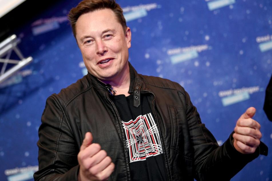 Elon Musk (49) ist nicht nur Chef des Elektroautobauers Tesla, sondern auch von SpaceX.