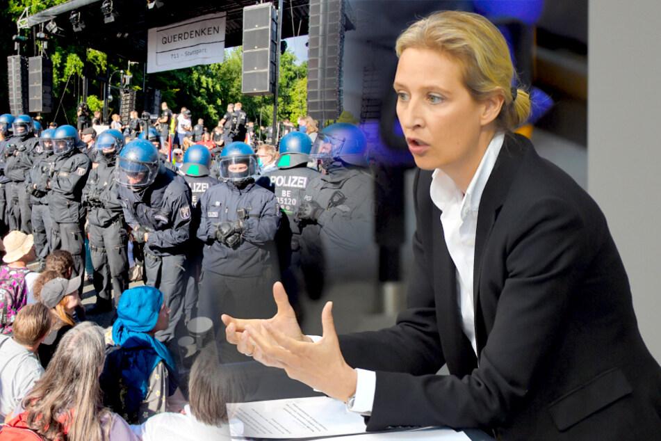 Corona-Demo in Berlin verboten: Scharfe Kritik von der AfD!