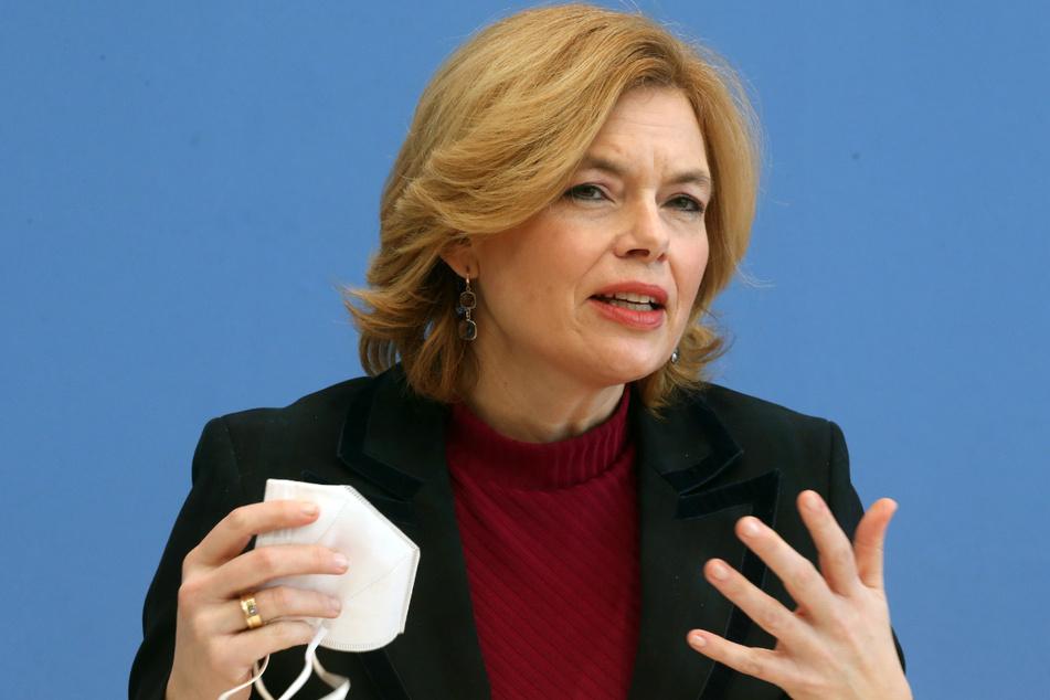 Bundesernährungsministerin Julia Klöckner (48, CDU) ist für das Thema zuständig.