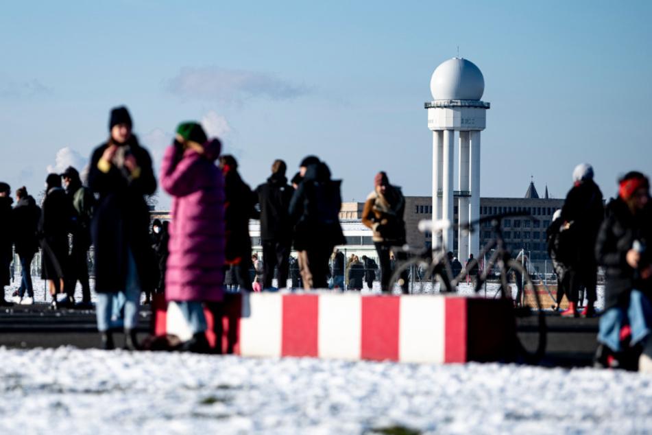 Achtung, Glatteis: So lange bleibt Berlin noch das Winter-Wonderland