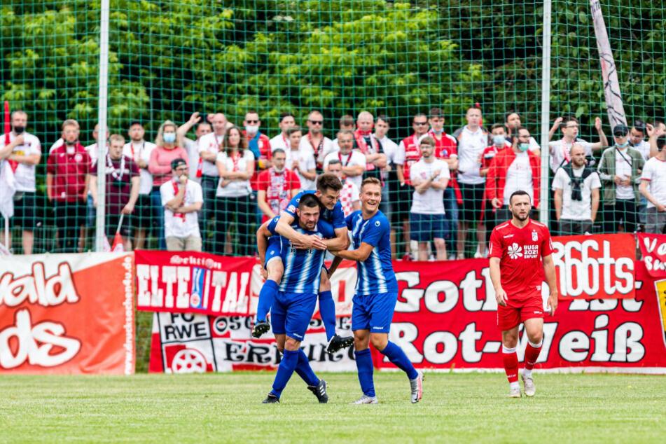 Im Viertelfinale schaltete Fahner Höhe den favorisierten FC Rot-Weiß Erfurt aus. Gegen Thüringen Jena ist der Oberligist Favorit. Wird die Mannschaft dieser Rolle gerecht?