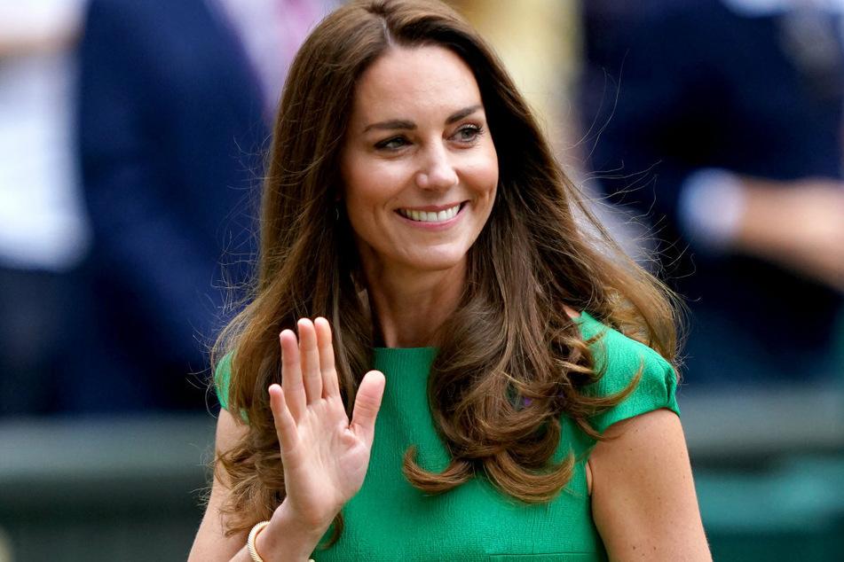 Herzogin Kate (39) ließ sich das Tennis-Finale nicht entgehen.