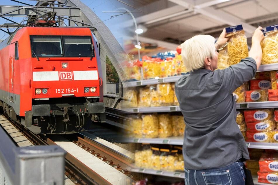 Wegen Hamsterkäufen: Aldi holt Nudeln per Sonderzug nach Deutschland