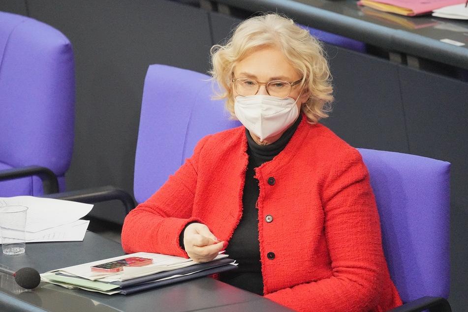 hristine Lambrecht (55, SPD), Bundesministerin der Justiz und für Verbraucherschutz.