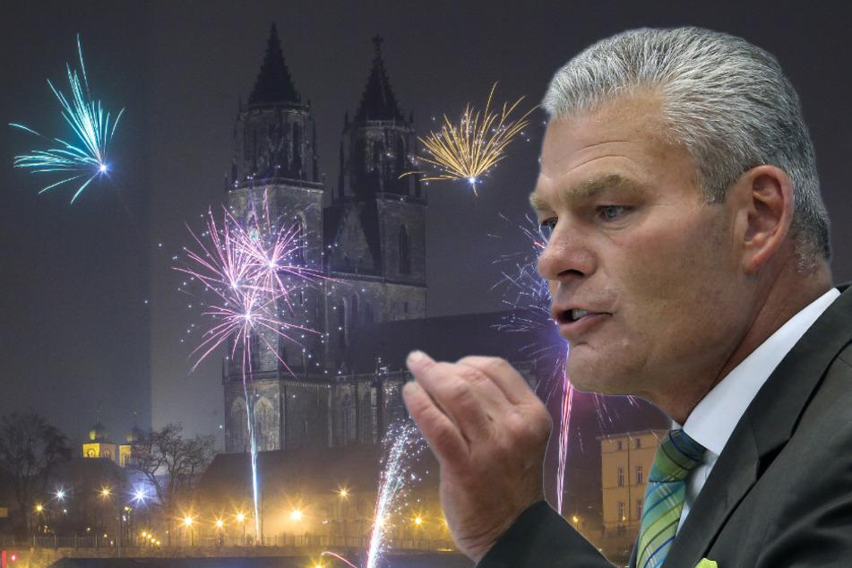 Kein Silvester-Feuerwerk wegen Corona? Das sagt Sachsen-Anhalts Innenminister dazu