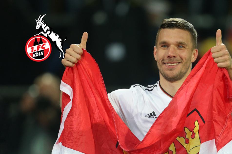 """Podolski in Sorge um seinen Effzeh: """"Plätschert alles zu sehr Richtung Untergang"""""""
