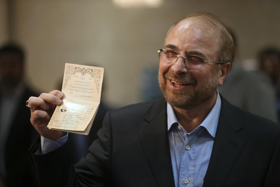 Der iranische Parlamentspräsident Mohammed Bagher Ghalibaf hat sich nach einem positiven Corona-Test in häusliche Quarantäne begeben.