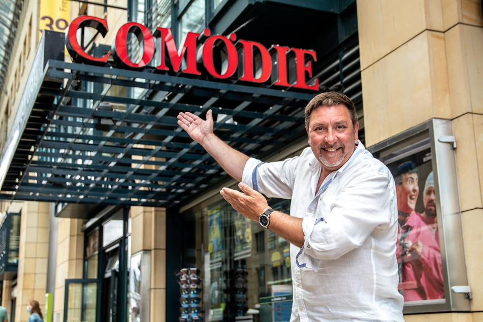 Thomas Böttcher (55) freut sich auf die Komödie in der Comödie.