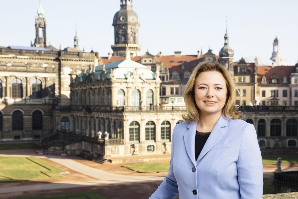 Corinne Miseer (44) soll Dresdens Tourismus aus der Corona-Krise führen.