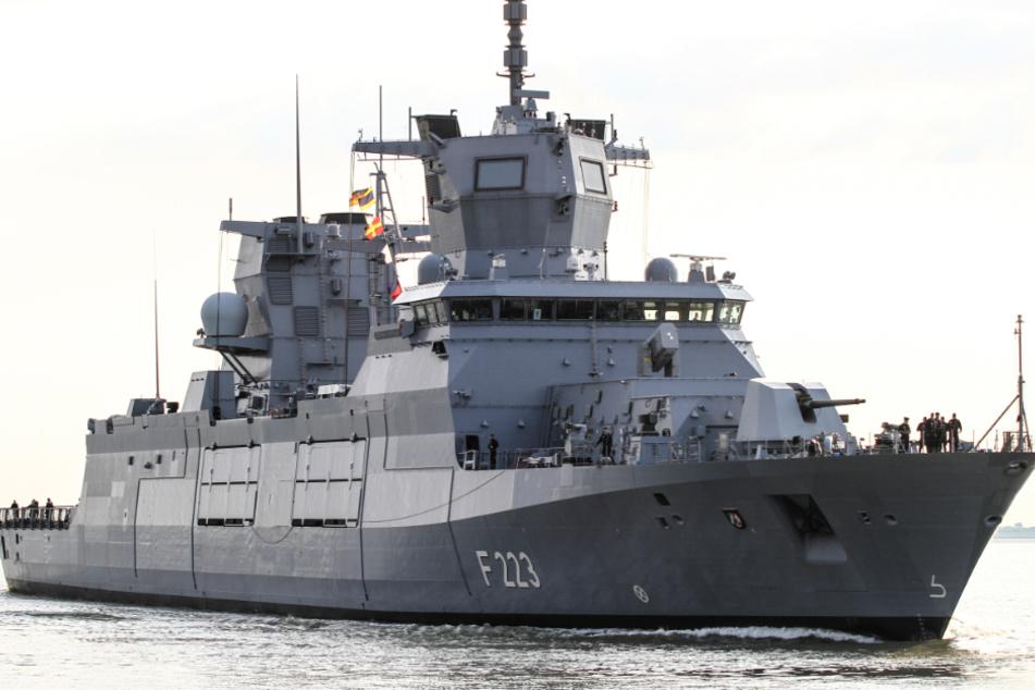 Deutsche Marine schickt Kriegsschiffe ins Ostsee-Manöver