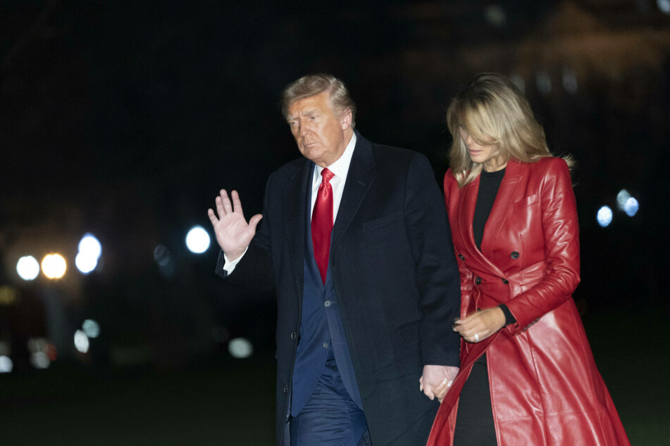 President Donald Trump (74) and First Lady Melania Trump (50) are moving out of the White House in just under five weeks.