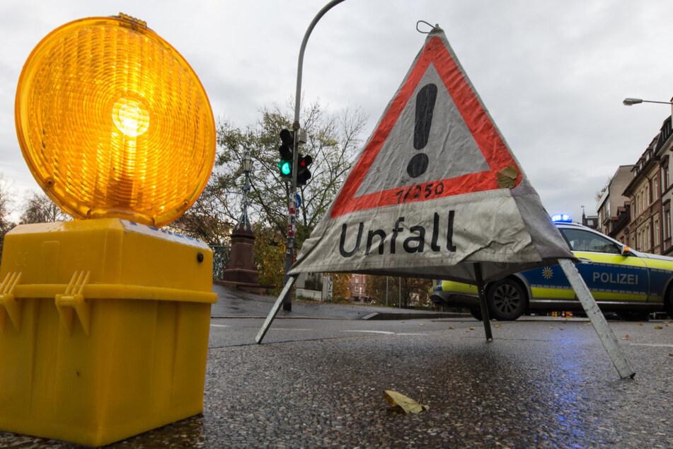 Für den Zeitraum der Unfallaufnahme durch die Polizei musste die Winklerstraße vorübergehend teilweise gesperrt werden. (Symbolfoto)