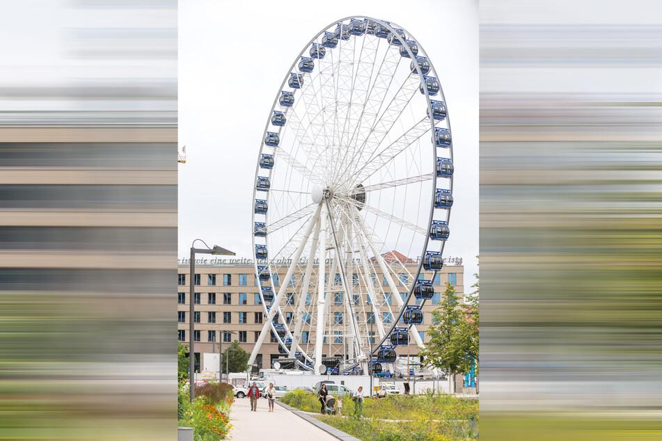 """Ab Montag wird auf dem Postplatz das """"Wheel of Vision"""" aufgebaut."""