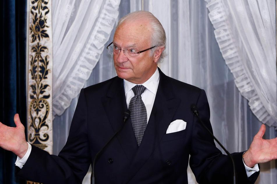 König Carl XVI. Gustaf von Schweden.